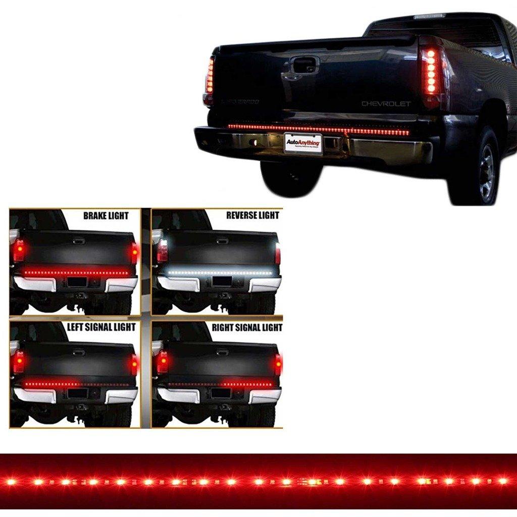 Car & Truck Parts 60 Car Trunk Tailgate LED Light Bar Strip For Ford Reverse Brake Signal Light