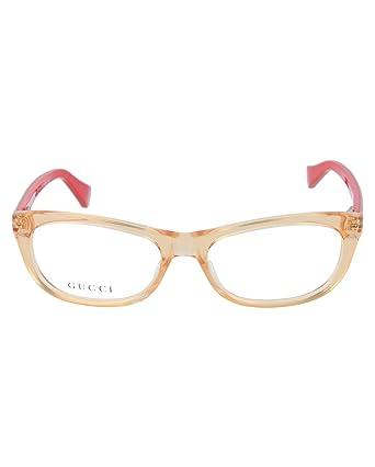 7c9ad2f5814 Amazon.com  Gucci Kids Round Oval Optical Frames GG5007C-114231W6V-4615   Clothing