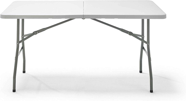 KG KITGARDEN - Mesa Plegable Multifuncional, 152x70x74cm ...