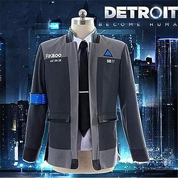 GGOODD Detroit: Become Human Connor Cosplay Costume Halloween ...