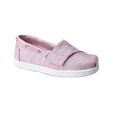TOMS Girls 10010050 Peony Bimini-K, Pink 2 M US Infant
