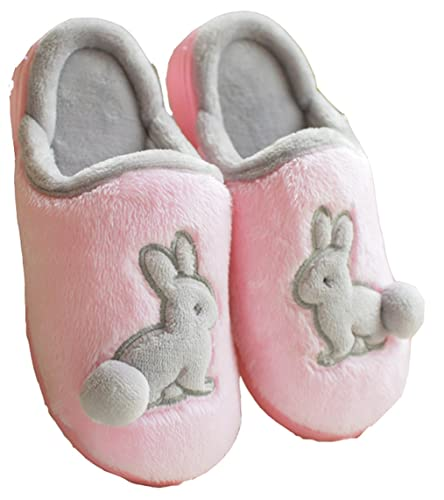 D S MOR Kid s Rabbit Bedroom Slippers Cute Slippers Bunny Slippers  10 5 M   Pink. Amazon com   D S MOR Kid s Rabbit Bedroom Slippers Cute Slippers
