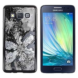 TopCaseStore / la caja del caucho duro de la cubierta de protección de la piel - Nature Beautiful Forrest Green 194 - Samsung Galaxy A3 SM-A300
