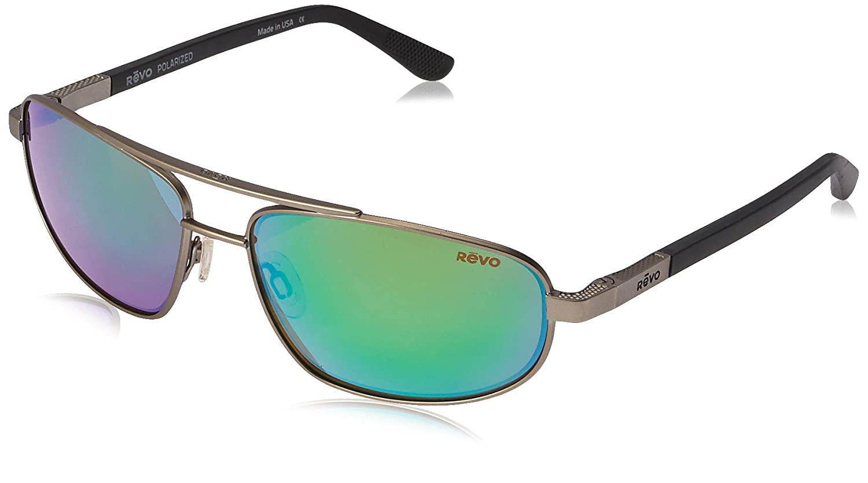 b1d0b6b6552 Amazon.com  Revo Unisex RE 1013 Nash Aviator Polarized UV Protection  Sunglasses