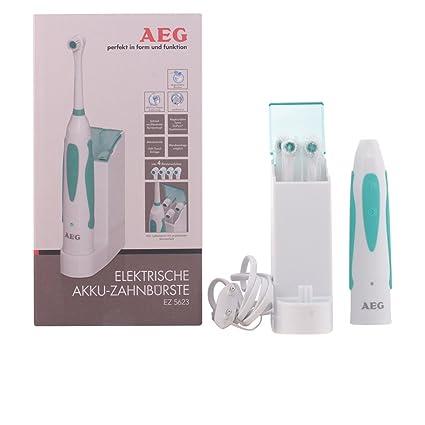 AEG EZ 5623 - Cepillo de dientes eléctrico de rotación, recargable, color blanco y