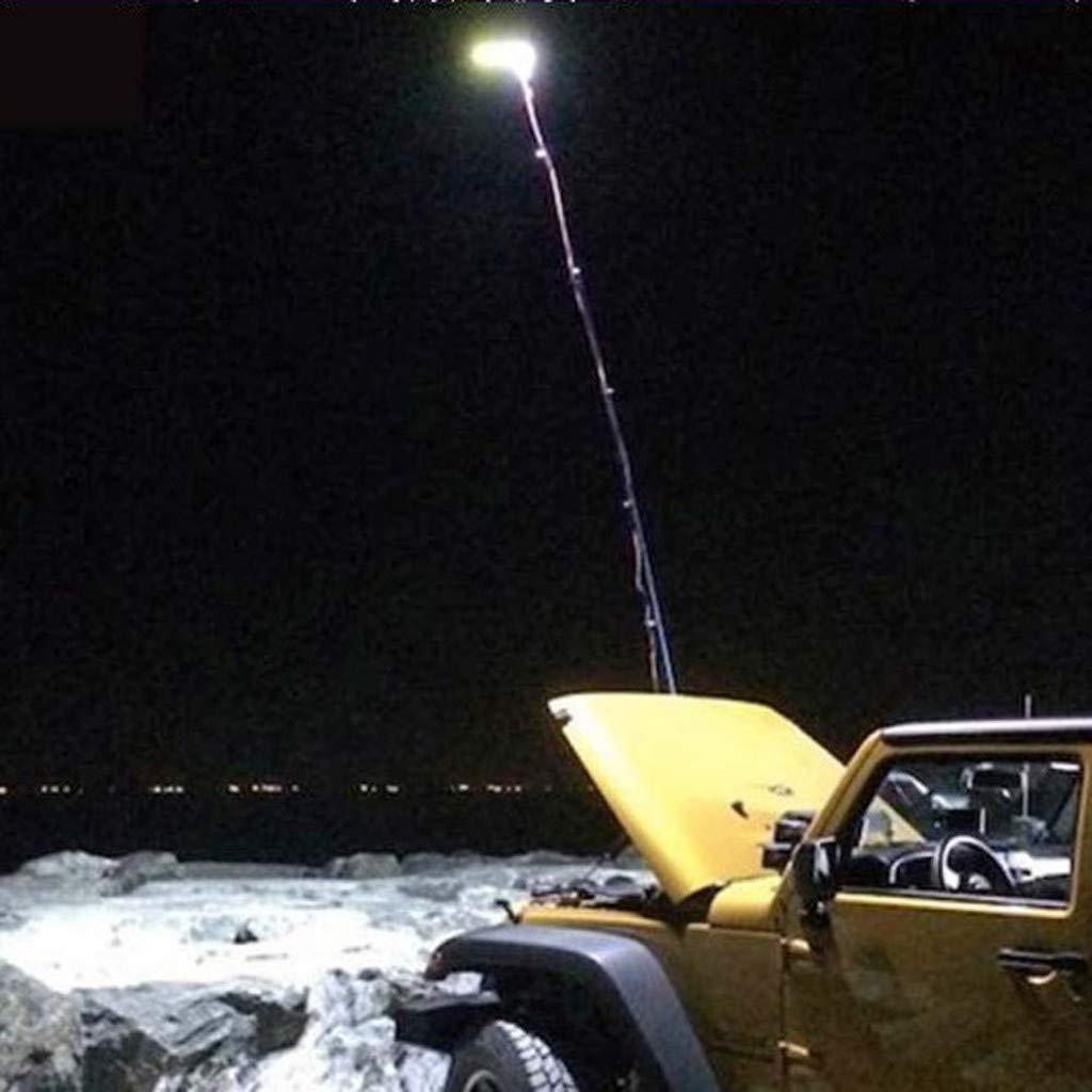 BBQ Telescopic COB Rod LED Fishing Outdoor Camping Lantern Light Lamp Hiking