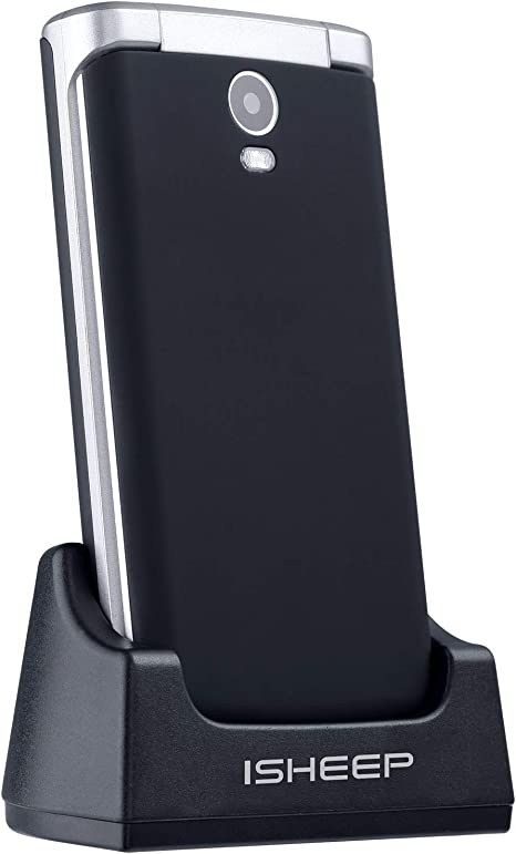 Teléfono móvil con Tapa para Personas Mayores, Teclas Grandes ...