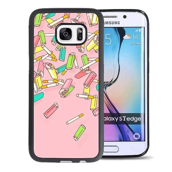 size 40 e6094 e5087 Amazon.com: Cigarette Lighter Samsung Galaxy S7 Edge Phone Case ...