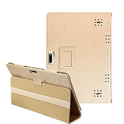 fundas tablets, Ultra Slim Función de Soporte Protectora Plegable Smart Cover Funda Carcasa universal de PU para Tablet PC con Android de 10 a 10.1 ...