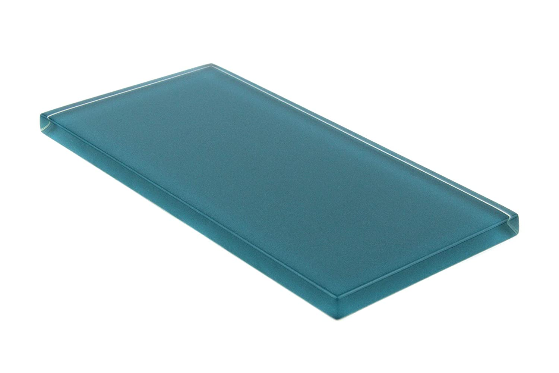 Emerald Green Giorbello Glass Subway Backsplash Tile 3 x 6 Sample Tile 1 Piece