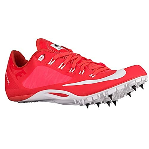 e4b10d08c33d new Nike Zoom Superfly R4 Track Spikes Shoes Hyper Crimson White Mens Size  8 (Womens 9.5)  Amazon.ca  Shoes   Handbags