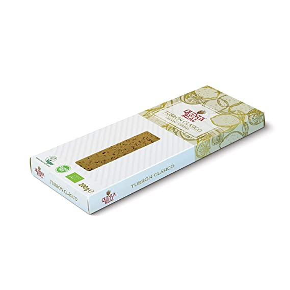 Turrón quinoa real clásico, vegano, sin gluten - Quinua real - 200 gr.