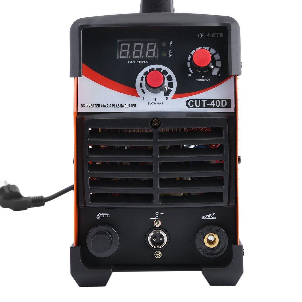 sweepid Plasma Cortador Plasma Cutter sudor dispositivo 220 V 10 ~ 40amps 3 en 1 cut40d TIG/MMA/Cut: Amazon.es: Bricolaje y herramientas
