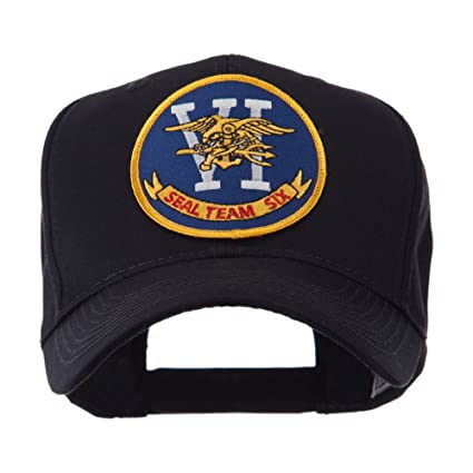 Navy Seal Team Embroidered Military Patch Cap - Seal Team 6 OSFM Black at  Amazon Men s Clothing store  Baseball Caps ca0770040a01