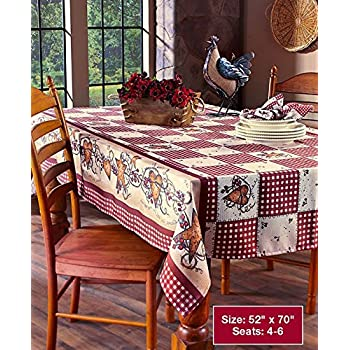 Delicieux Linda Spivey Kitchen Decor Table Cloth Linens Primitive Country Hearts  Stars TableCloth Or Napkins Kitchen Collection
