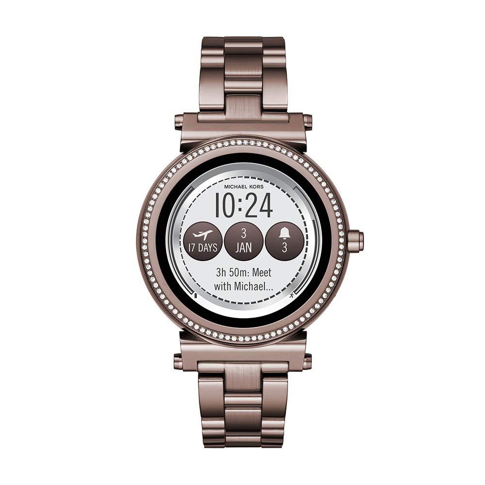 Amazon.com: Michael Kors Reloj inteligente de cuarzo para ...