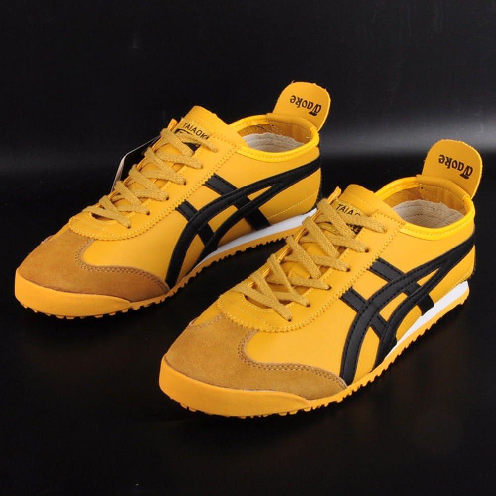 taiaoke Unisex Zapatillas de running zapatillas de Kung Fu Bruce Lee artes marciales zapatos estilo