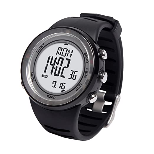 EZON h009 a15 senderismo montaña escalada al aire libre reloj deportivo: Amazon.es: Relojes