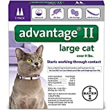 Advantage II Flea Control Large Cat (for Cats...