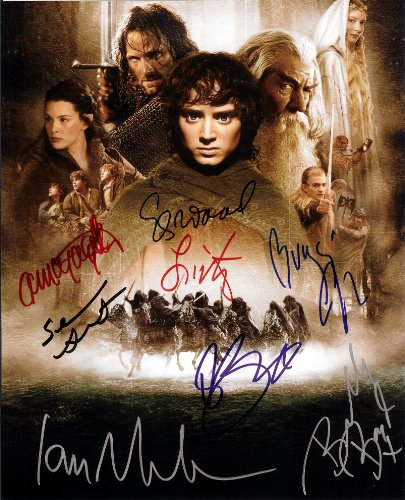 Lord of the Rings Cast Signed Autographed 8 X 10 Reprint Photo - Mint Condition from Nostalgic Cards & Autographs