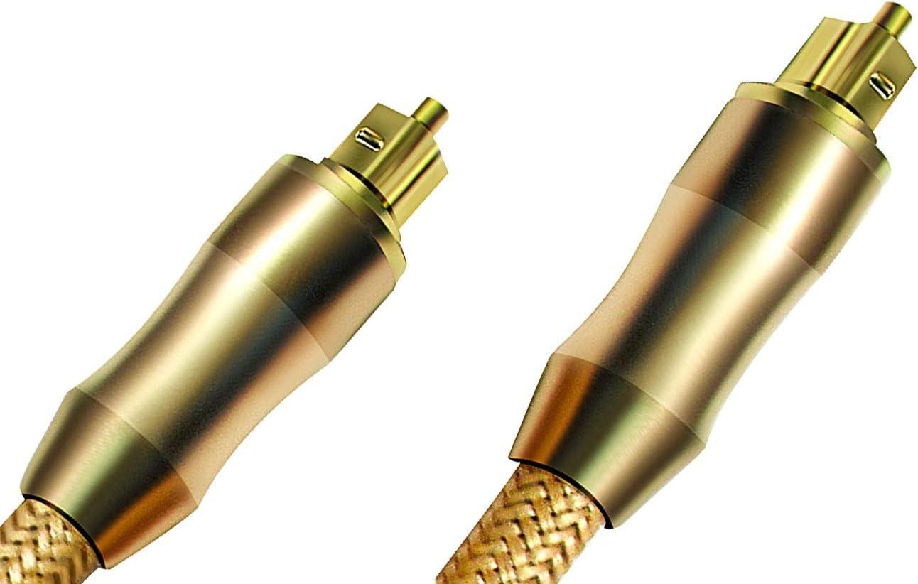 easyday Premium TOSLink Fiber Optical Digital Audio Cable 1.5M