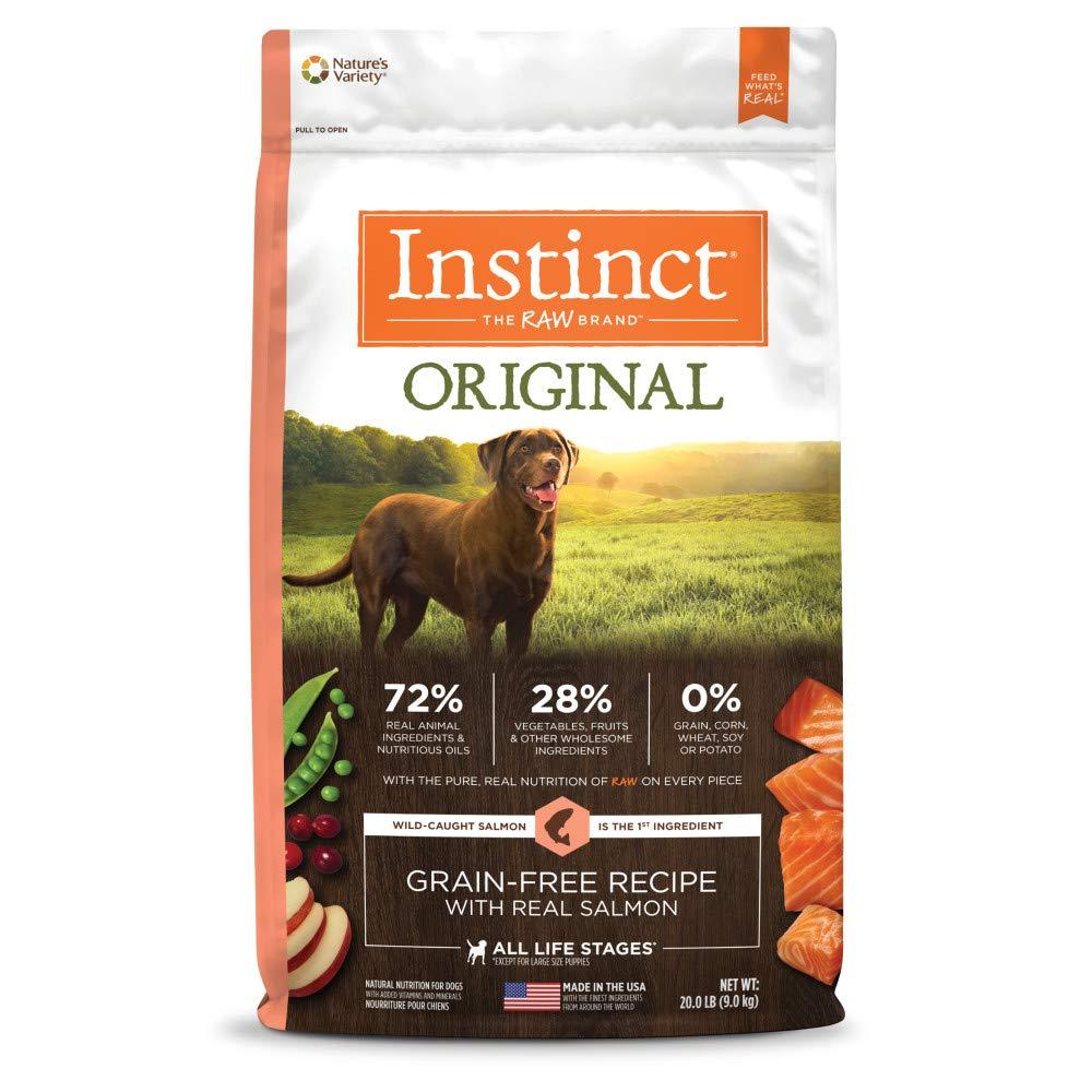 2.Instinct Original Grain-Free Recipe with Real Salmon
