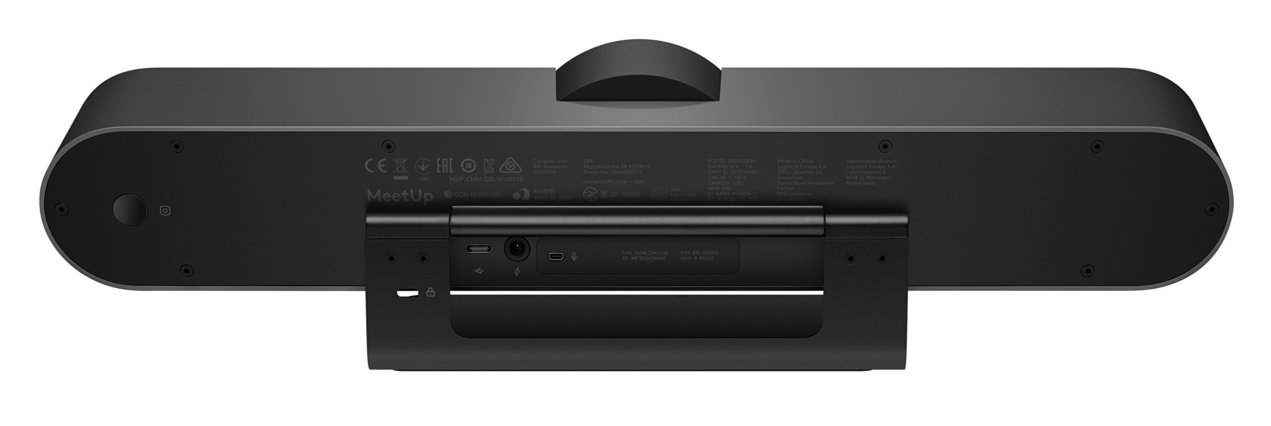 Logitech 960-001101 MeetUp HD Video and Audio Conferencing System for Small Meeting Rooms by Logitech (Image #4)