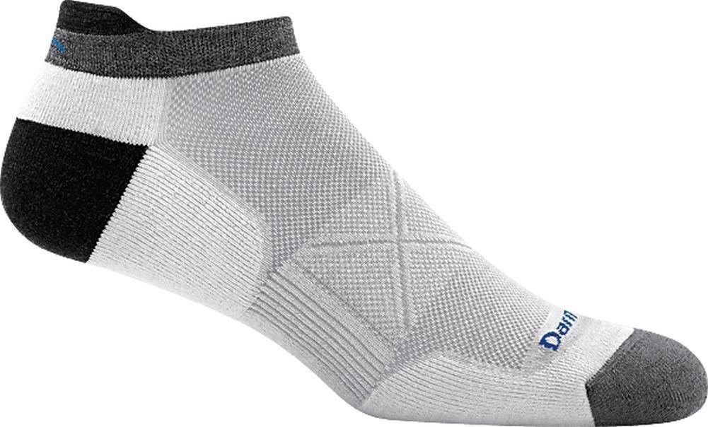 Darn Tough Vertex No Show Tab Ultra-Light Cushion Sock - Men's White Large