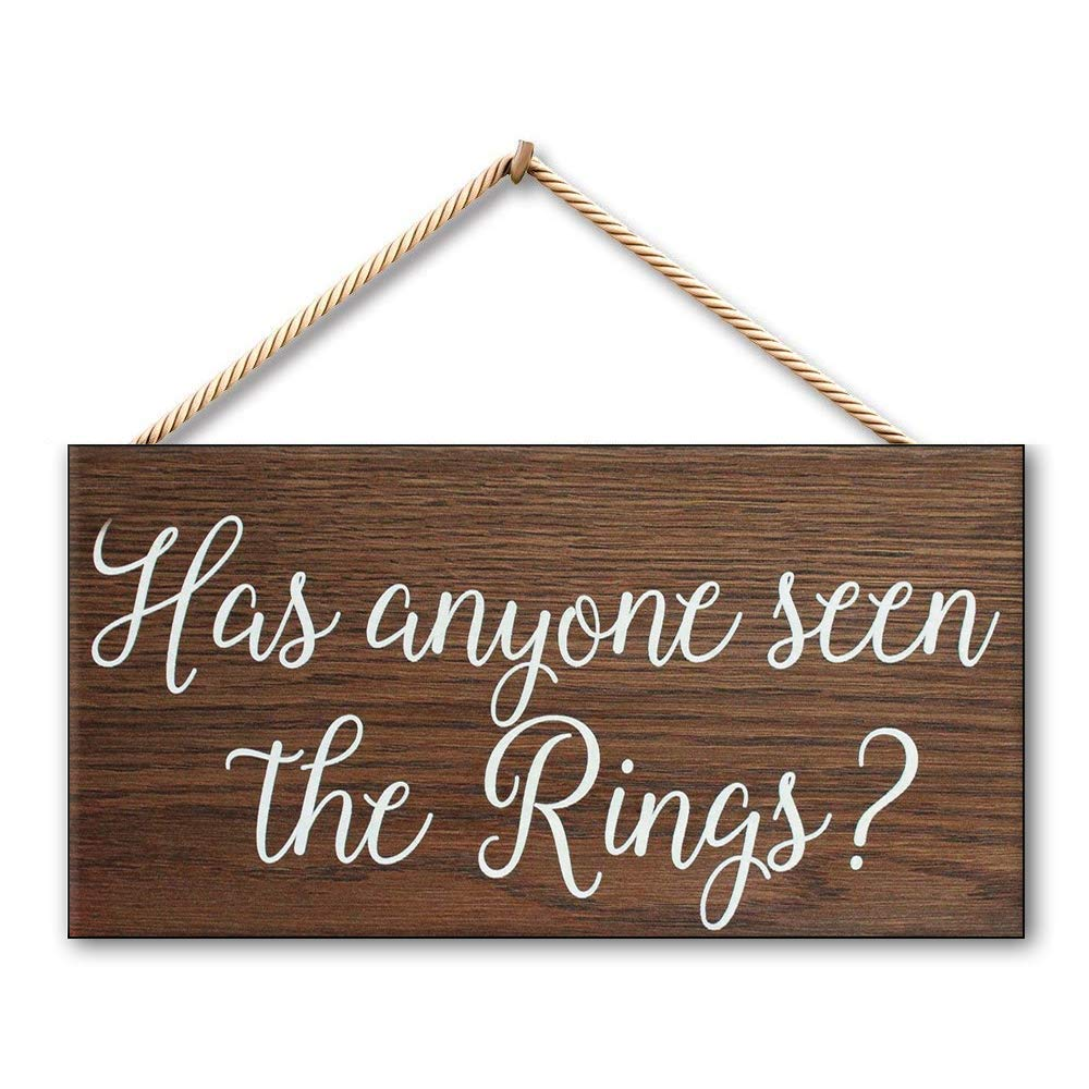 Mr.sign Has Anyone Been The Rings Cartel de Pared Madera ...