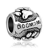 Amazon Price History for:CharmSStory Paws Animal Dog Mom Silver Plated Charms Beads For Bracelets