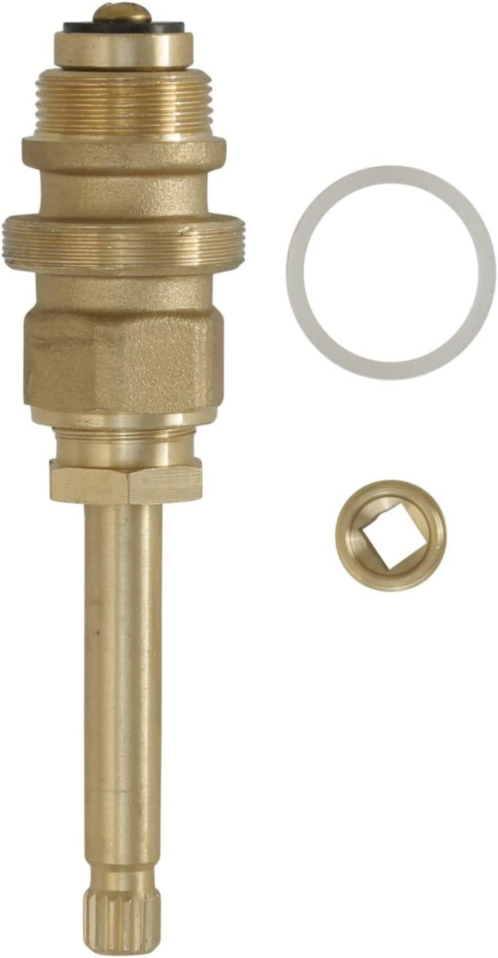 1-Pack DANCO Reduced-Lead 15420B 10L-1H//C Durable Brass Hot and Cold Water Stem for Sterling Faucets