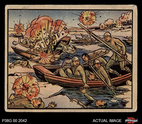 1938 Gum Inc. Horrors of War # 103 Chinese Reds Flee Across Ice-filled River (Card) Dean's Cards 2 - GOOD 2226755