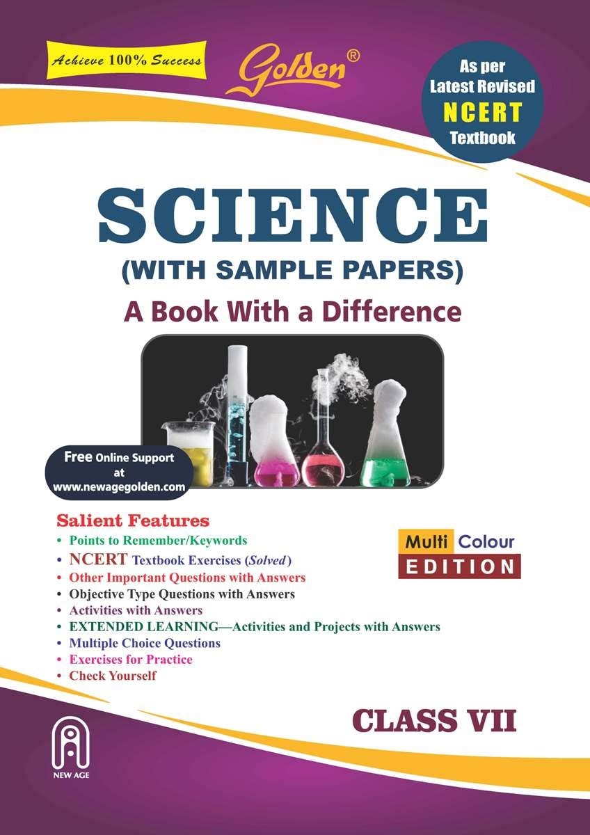 Golden Science: With Sample Papers A Book with a Difference