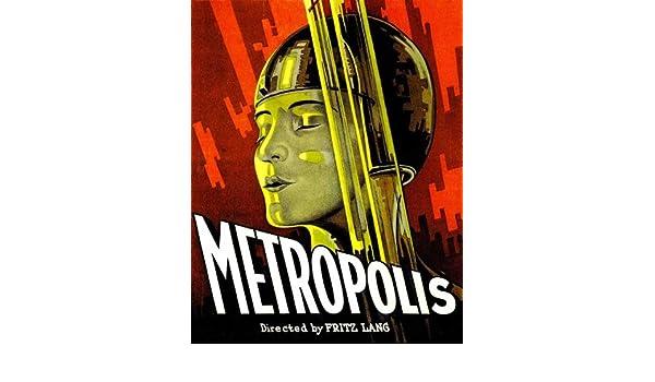 Póster de película K Metropolis 11 x 17 en - 28 cm x 44 cm ...