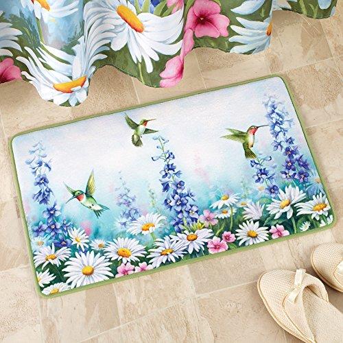 [해외]가든 블리스 허밍 버드 배스 매트/Garden Bliss Hummingbird Bath Mat