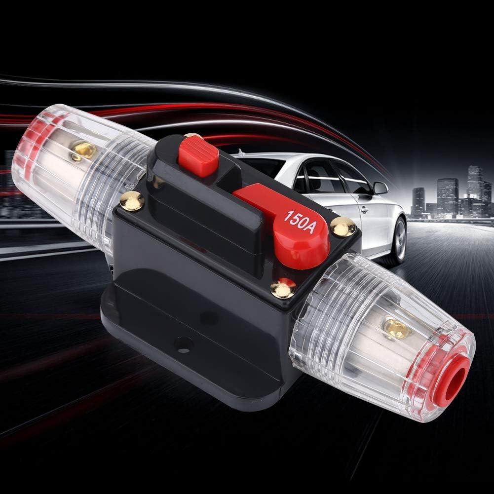 Reset Breaker-Car Modified Audio 150A Circuit Breaker Manual Reset Switch Fuse Holder