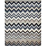 Safavieh Tahoe Collection TAH477D Grey and Light Blue Area Rug (8′ x 10′) Review