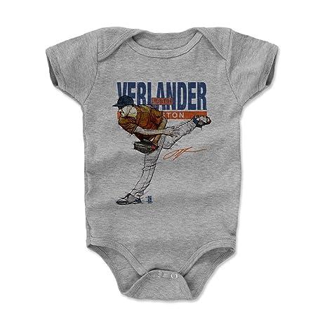 d3ffd3f1ee1c 500 LEVEL Justin Verlander Baby Clothes, Onesie, Creeper, Bodysuit 12-18  Months