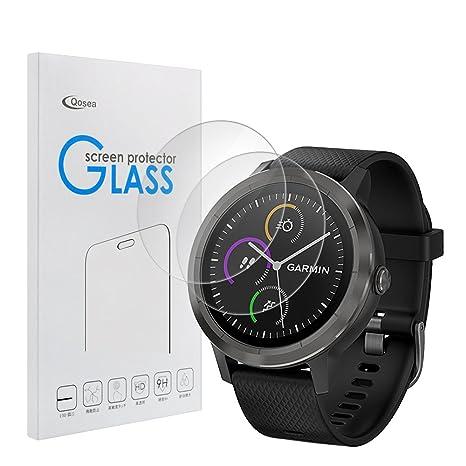 Siuber Protection écran pour Garmin Vivoactive 3(2-Pack) Ultra Clair et Résistant