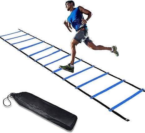 KIKILIVE - Escalera de agilidad, escalera de coordinación para ...