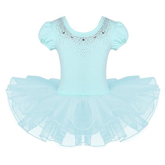 Ballett Kleid Ballettanzug Ballettbody Trikot Anzug Body Ballettkleid Tütü Tutu