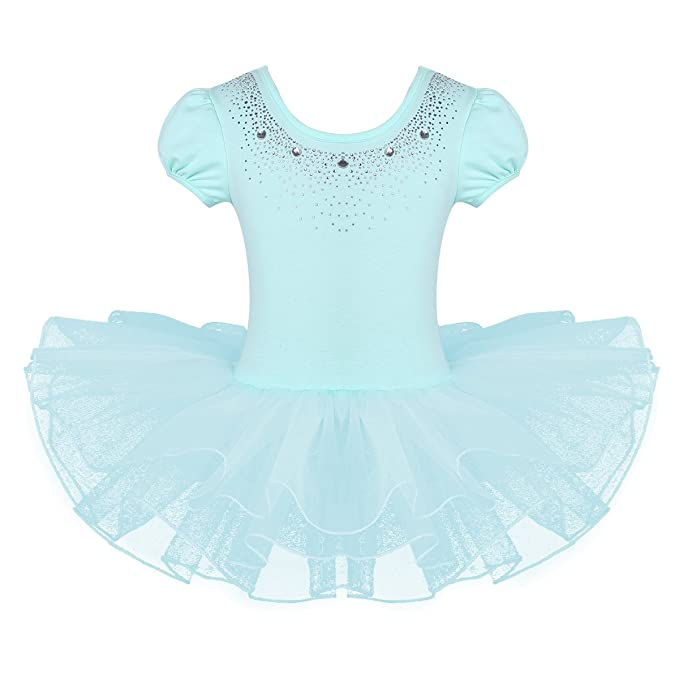 d4a977d4d Amazon.com  Agoky Children Girls Rhinestones Ballet Dance Tutu Dress ...