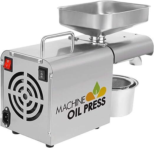 Q&Z MáQuina De Prensa De Aceite AutomáTica,Calor Frio Extractor ...