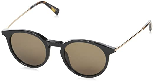 6fb5a05ce Mont Blanc Oval Unisex Sunglasses Brown MB549S: Amazon.ae