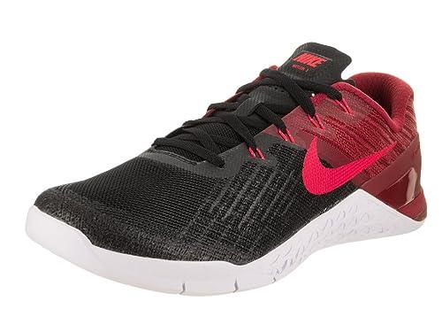 b52d54a09c4cf Nike Men's Metcon 3 Training Shoe Black/Siren Red/Team Red/White Size 11 M  US