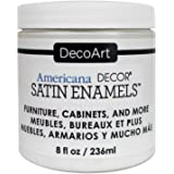 DecoArt DECADSA-36.3 Decor Satin Enamels Warmwht Americana Decor Satin Enamels 8oz Warmwht