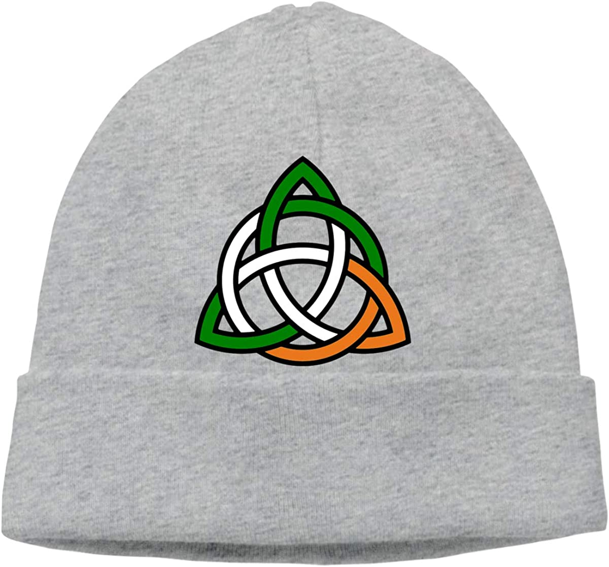 FORDSAN CP Celtic Knot Irish Mens Beanie Cap Skull Cap Winter Warm Knitting Hats.