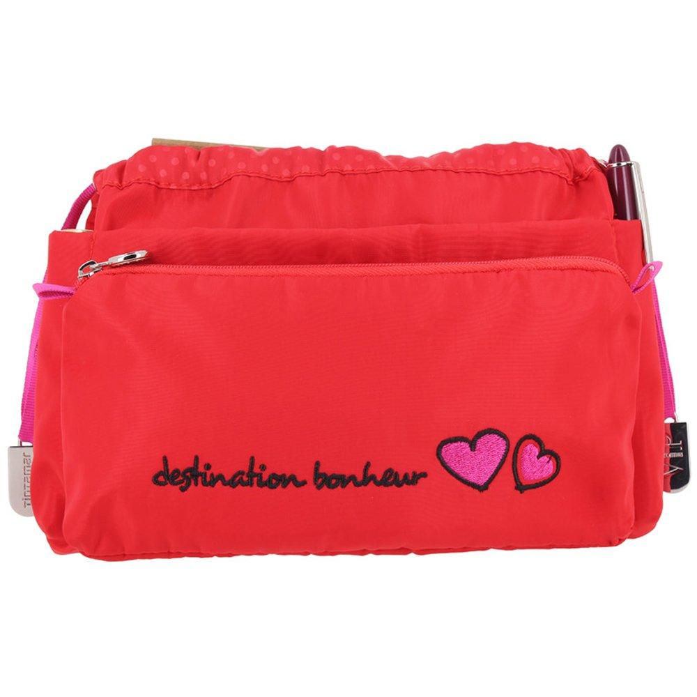 Tintamar Organizer of inscription bag EASY VIP TRAVEL VOYAGE CHIC Red Women Spring/Summer Collection