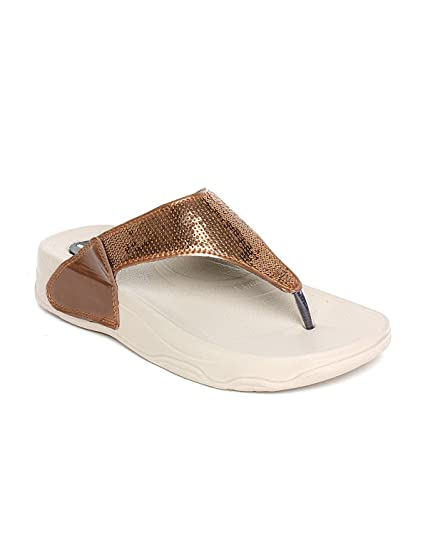 0ec680d46 Pure Women s Synthetic Flip Flop  Buy Online at Low Prices in India -  Amazon.in