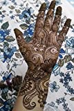 Traditional Mehendi Henna Hands Journal: 150 Page Lined Notebook/Diary